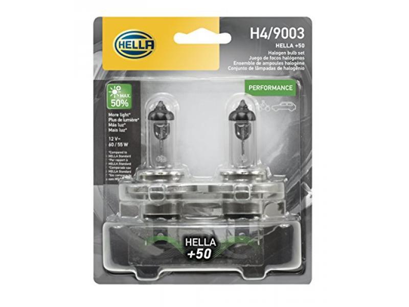 HELLA H4P50TB +50 Performance Bulb