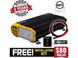 Krieger 2000 Watts Power Inverter 12V to 110V Photo 2