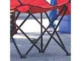 COLEMAN COOLER QUAD PORTABLE Red CAMPING CHAIR Photo 2