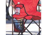 COLEMAN COOLER QUAD PORTABLE Red CAMPING CHAIR Photo 4