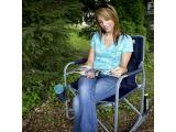 GCI Outdoor Freestyle Rocker Portable Cinnamon Folding Rocking Chair Photo 3