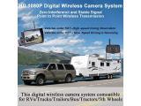 1080P DVR Digital Wireless 2 Backup Cameras Photo 2