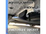 Potauto Universal Aluminum Grooved Magnetic Jack Pad Photo 5