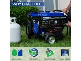 DuroMax XP4400EH Dual Fuel Portable Generator-4400 Watt Photo 3