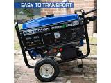 DuroMax XP4400EH Dual Fuel Portable Generator-4400 Watt Photo 4