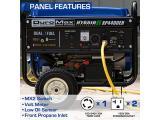 DuroMax XP4400EH Dual Fuel Portable Generator-4400 Watt Photo 5