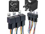 6 Pack Bosch Style 5-Pin 12V Relay Kit