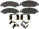 Ceramic Front Disc Brake Pad Set with Hardware
