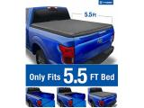 Tyger Auto T1 Soft Roll Up Truck Bed Tonneau Cover Photo 4
