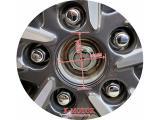 K-MOTOR SET-x4-CENTER-CAPS-HUB-CAPS-CRV-CIVIC-ACCORD-ELEMENT-ODYSSEY-PILOT-WHEEL Photo 3