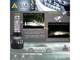 ALLA Lighting S-HCR H11 Low Beam HB3/9005 High Beam LED Bulbs Combo Kits Photo 2