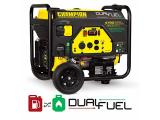 Dual Fuel RV Ready Portable Generator with Electric Start Photo 2
