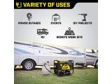 Dual Fuel RV Ready Portable Generator with Electric Start Photo 4