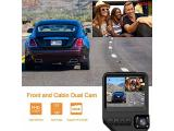 Dual Dash Cam for Cars 1080P Front and Cabin Inside Cameras Photo 2