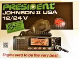 President Electronics Johnson II USA  AM Transceiver CB Radio Photo 4