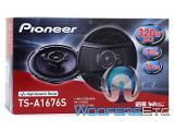 Pioneer TS-A1676S 6.5 320W 3-Way Coaxial Speakers System Photo 5