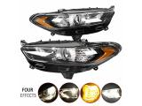 ECOTRIC Pair Headlights Lights Lamps