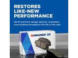 Wagner QuickStop ZD1114 Ceramic Disc Brake Pad Set Photo 2