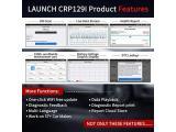 LAUNCH CRP129I OBD2 Scanner-Code Reader for Engine/ABS/SRS/Transmission Photo 5