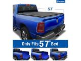 Tyger Auto T1 Soft Roll Up Truck Bed Tonneau Cover for 2019-2021 Ram Photo 1