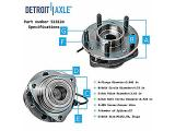 Detroit Axle - 4WD Front Wheel Hub & Bearings Photo 2