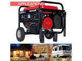 Durostar DS4400E Gas Powered Portable Generator - Red Photo 3