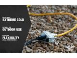 Coleman Cable 03489 12/3-Wire Gauge Tri-Source SJEOW Outdoor Vinyl Extension Cord, 100-Feet Photo 3