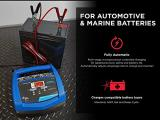 Schumacher Fully Automatic Battery Charger and Maintainer – 15 Amp/3 Amp Photo 2