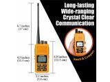 Sanzuco Long Range Rechargeable Two-Way Radio with Headset Photo 4