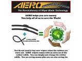 AERO Voyager 22 + 19 OEM Quality Premium All-Season Windshield Wiper Blades Photo 1