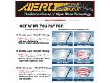 AERO Voyager 22 + 19 OEM Quality Premium All-Season Windshield Wiper Blades Photo 3