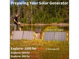 Jackery SolarSaga 100W Portable Solar Panel Photo 1