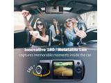 Dash Cam, Trekpow by ABOX HD 1080P Car DVR Dashboard Camera with 180°Rotation for Front and Cabin Photo 2
