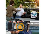 Dash Cam, Trekpow by ABOX HD 1080P Car DVR Dashboard Camera with 180°Rotation for Front and Cabin Photo 4