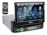 Pyle Single DIN Head Unit Receiver - In-Dash Car Stereo