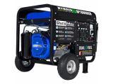 DuroMax XP10000EH Dual Fuel Portable Generator - 10000 Watt Gas or Propane