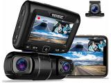 REXING S1 Dash Cam 3-Channel Front - Rear - Cabin