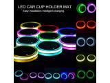 Led Cup Holder Lights-  2 Pieces Car Cup Holder led Lights