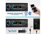 BOSS Audio 616UAB Multimedia Car Stereo – Single Din LCD,