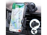 Dash Car Phone Holder No Block Come with Strong Sticky Pad