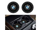 SOONDAR 2Pcs Car Interior Anti Slip Cup Mat for BMW