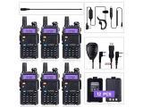 BaoFeng Radio UV-5R Ham Radio (6 Pack)