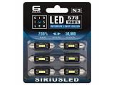 SIRIUSLED N3 578 LED bulbs Pure white