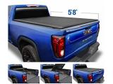 Tyger Auto T3 Soft Tri-Fold Truck Bed Tonneau Cover Compatible with 2019-2021 Chevy Silverado/GMC Sierra