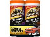 Armor All Car Cleaning and Leather Wipes (Interior Cleaner)