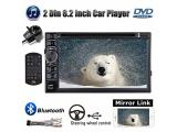 Double Din Car Radio with Backup Camera for Chevy