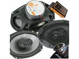 JBL GT7-96E 6x9 inches 300 Watts (75W RMS) Club Series 3-Way Coaxial Car Speakers