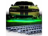 OPT7 Aura Aluminum Underglow LED Lighting Kit for Cars w/Wireless Remote