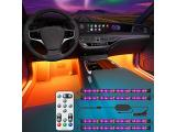 Govee Interior Car Lights, Interior Car LED Lights with Remote and Control Box