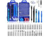 Apsung 110 in 1 Precision Screwdriver Set with Slotted, Phillips, Torx& More Bits